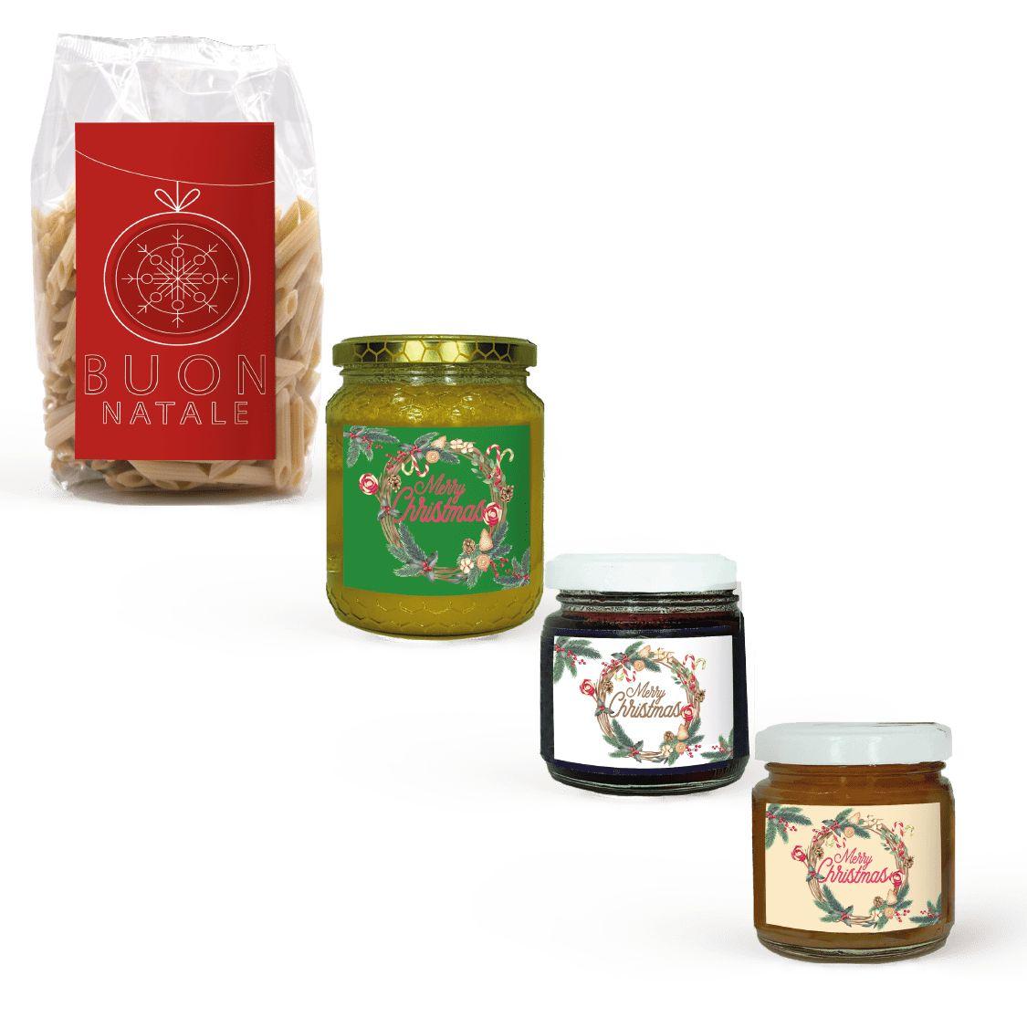cesti natalizi personalizzati pasta miele confetture