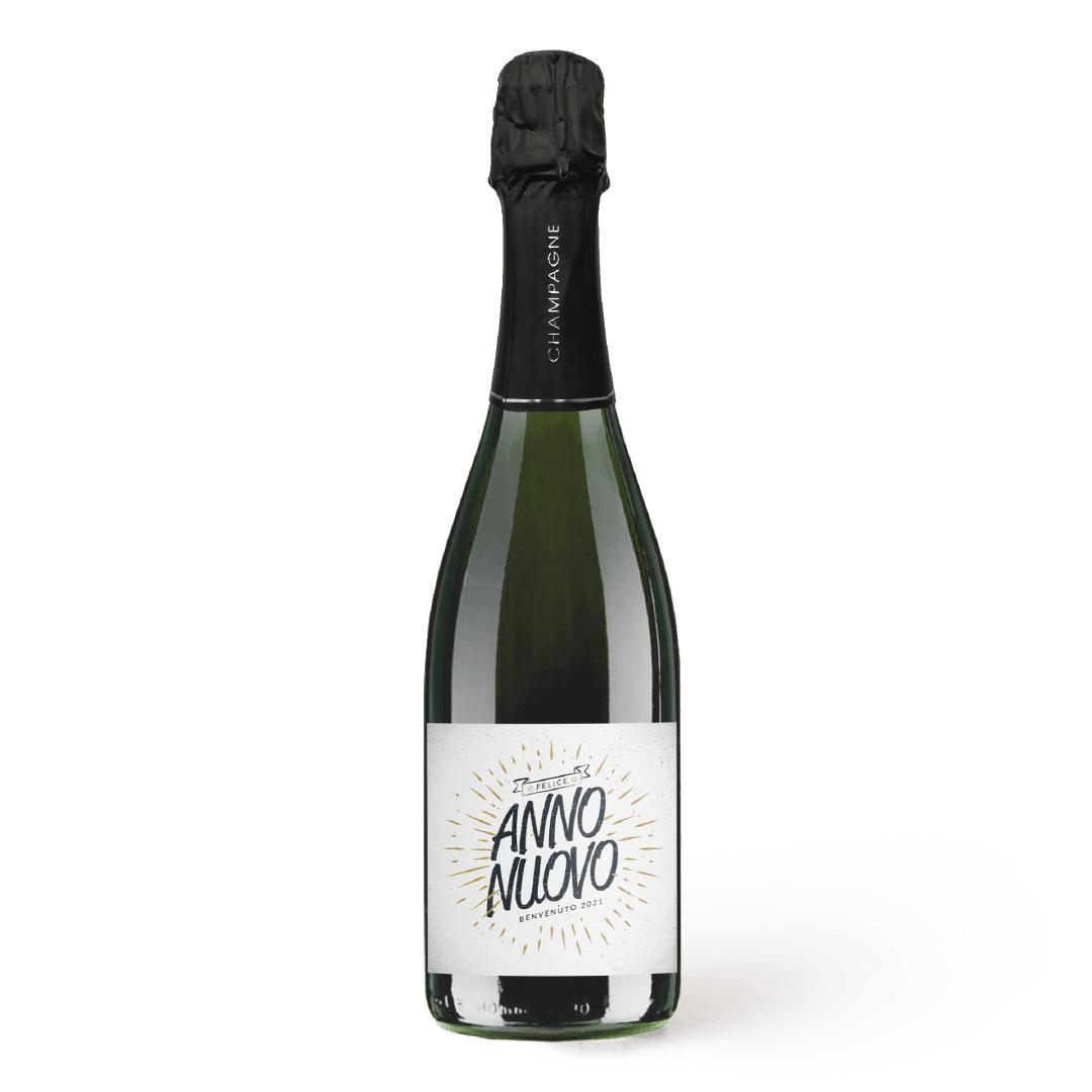 bottiglia champagne personalizzato
