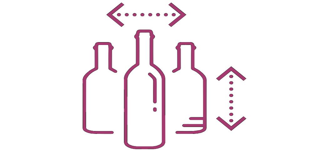 icona formato bottiglie