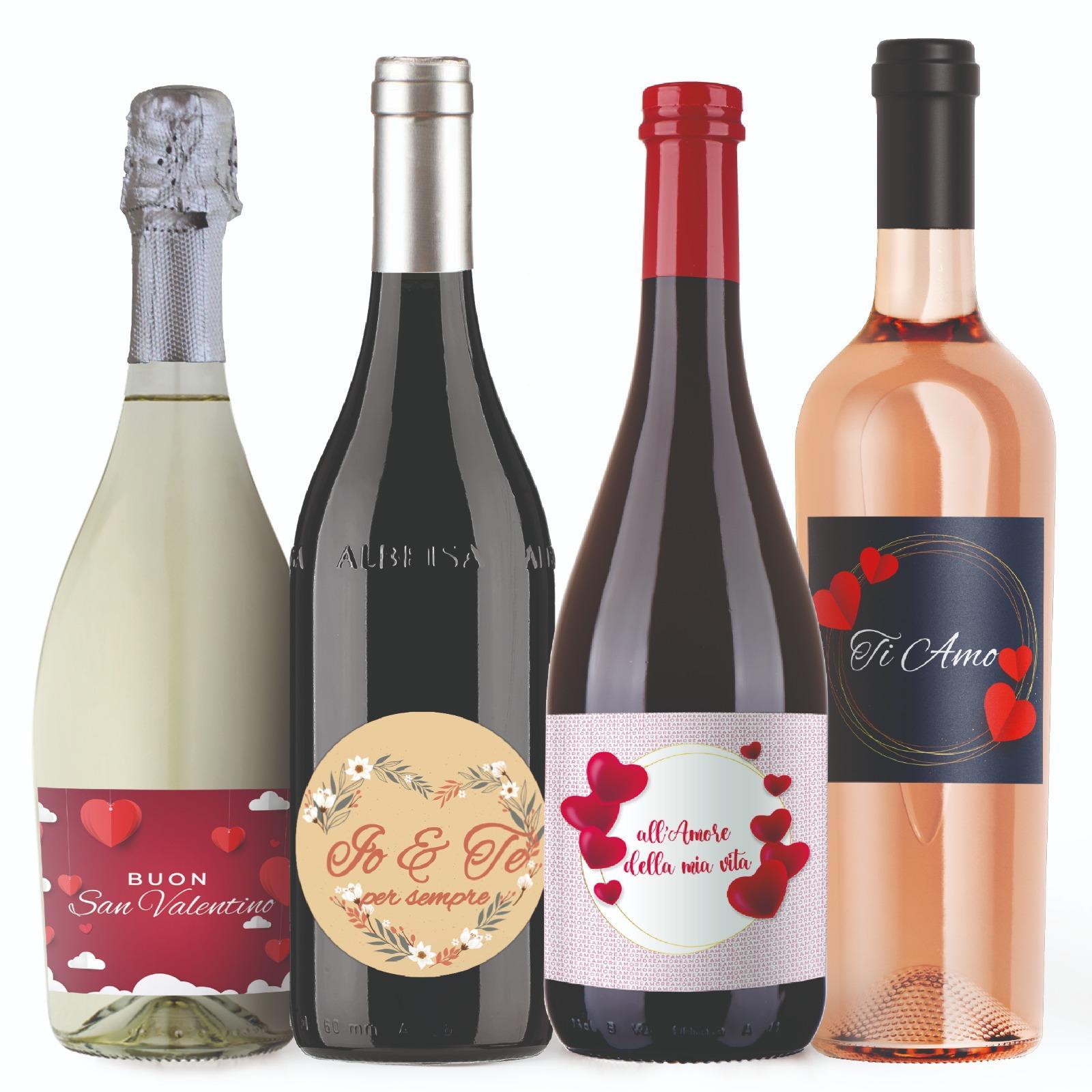 bottiglie personalizzate idee regalo san valentino