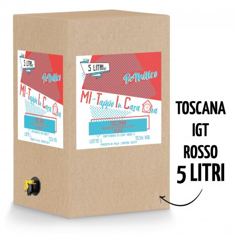 Bag in Box 5L - Toscana Rosso IGT - 13,5
