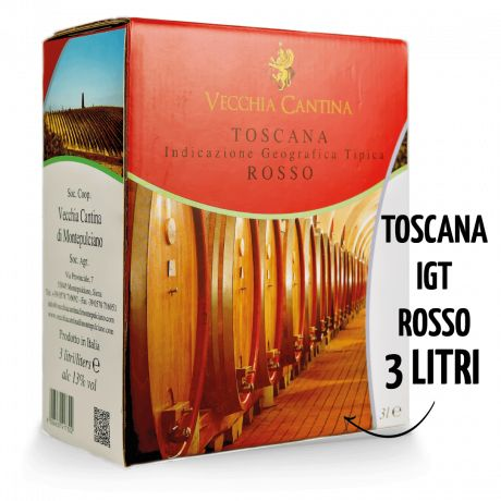 3 X Bag in Box 3L - Toscana IGT Rosso - 13