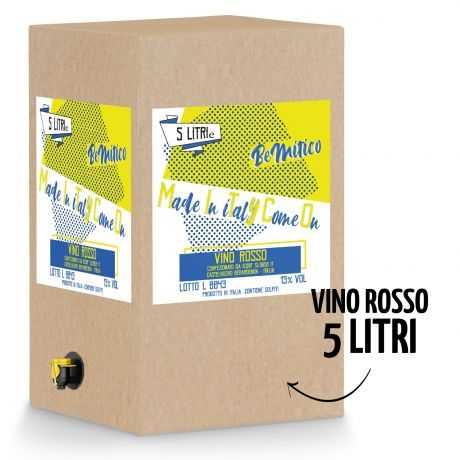 BeMityco - Limited Edition - Bag in Box Vino Rosso