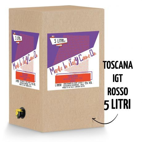 BeMityco - Limited Edition - Bag in Box Toscana Rosso IGT