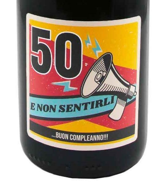 Bottiglia Prosecco personalizzato compleanno