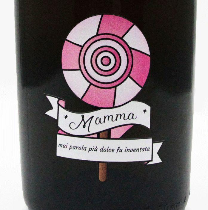 Bottiglia di Prosecco personalizzato - idea regalo per la festa della mamma
