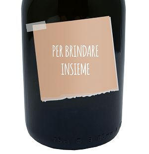 Message In a Bottle - Gift Idea personalized bottle of Prosecco