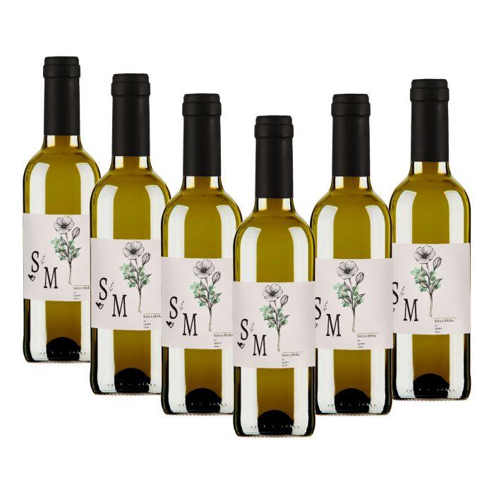 120 Bottiglie vino Soave DOC personalizzato per matrimonio