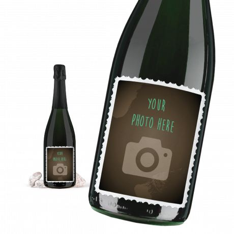 CHAMPAGNE BRUT 0.75 lt. - Bottle With Custom Label