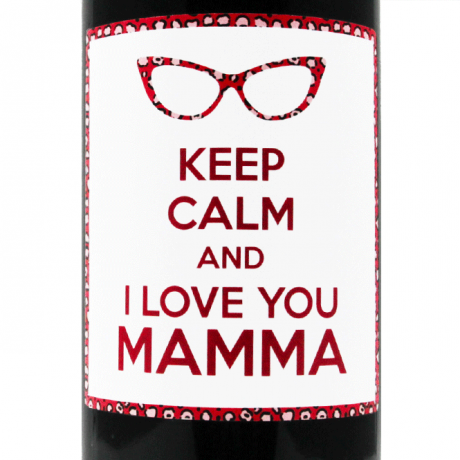 Keep Calm and ... - Personalized bottle gift idea for Mother's Day