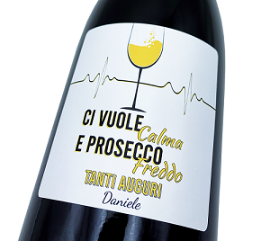 MAGNUM Prosecco personalized with label, gift idea for birthday