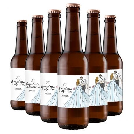 72X Craft Beer Lager - Personalized Favors